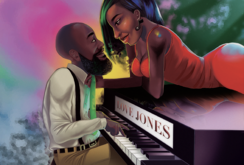 Keandre Jones Love Illustration