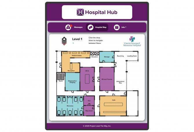 Hospital-app-map