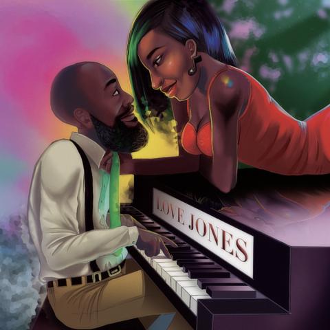 Keandre Jones Love Illustration