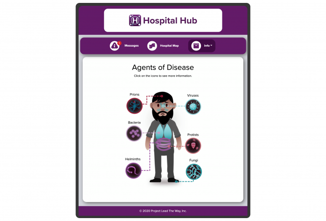 Hospital-app-agents-of-disease