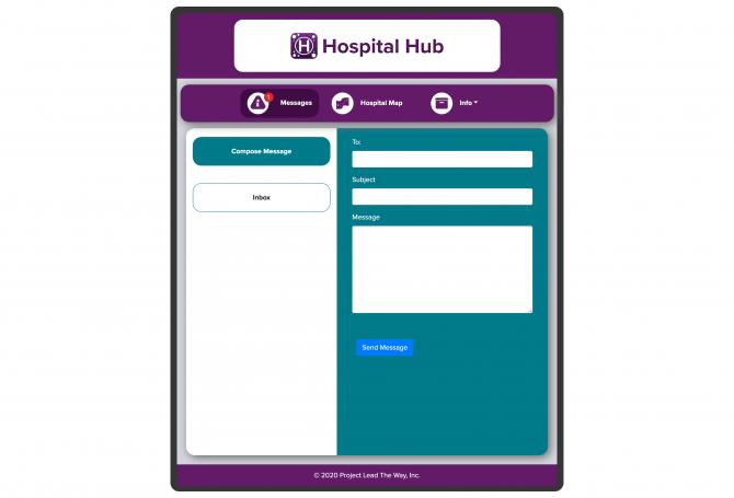 Hospital-app-message